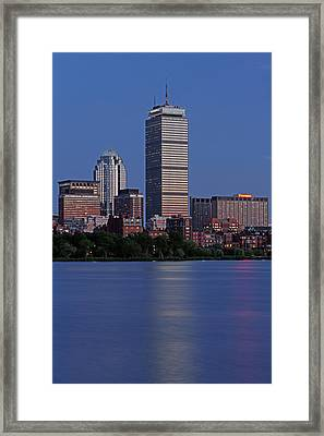 Favorite Bostonian Framed Print by Juergen Roth