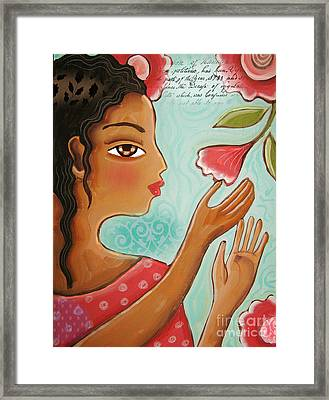 Favorite Bud By Elaine Jackson Framed Print
