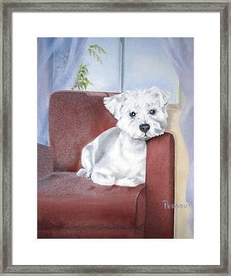 Favorite Chair Framed Print by Beverly Pegasus