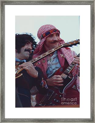 Favorite Of Manny Charlton And Zal Cleminson - Nazareth At Day On The Green 2 - 4th Of July 1979  Framed Print