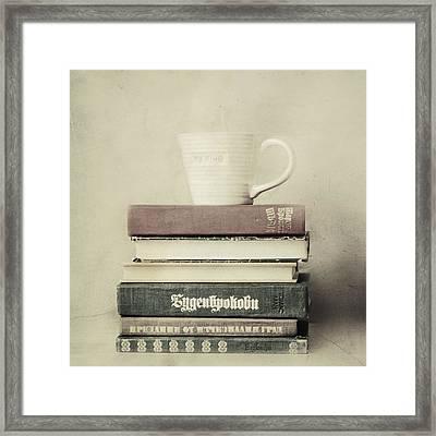 Favorite Pastimes  Framed Print