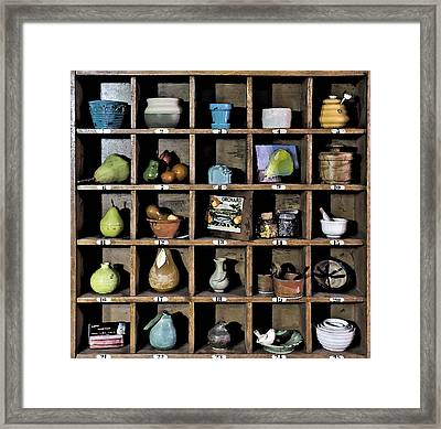 Favorite Things 3 Framed Print by Patrick M Lynch