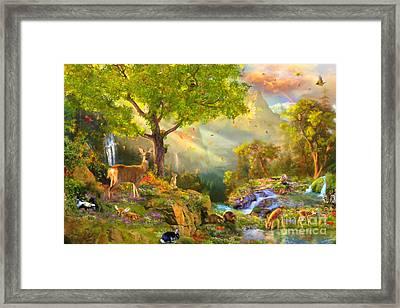 Fawn Mountain Framed Print by Aimee Stewart