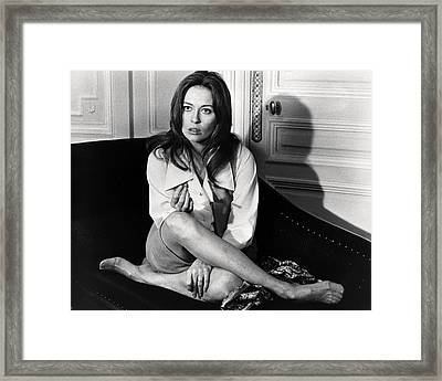 Faye Dunaway In Network  Framed Print