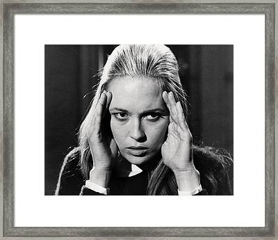 Faye Dunaway In The Happening  Framed Print
