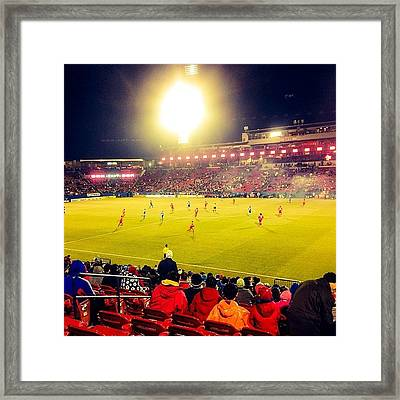 Fc Dallas #cold #mls #dtid #iphone5 Framed Print
