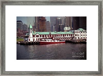 Fdny Pier A Framed Print