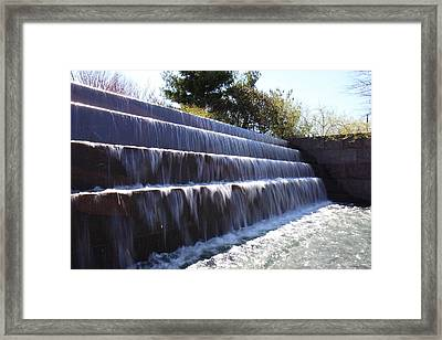 Fdr Memorial - Washington Dc - 01132 Framed Print