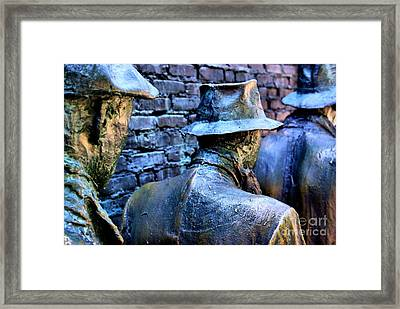 Framed Print featuring the photograph Franklin Roosevelt   Memorial Washington Dc by John S