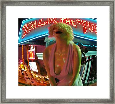 Fear And Loathing In My Vegas Framed Print by John Malone