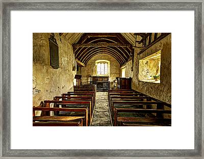Fear God And Honour The King Framed Print by Mal Bray
