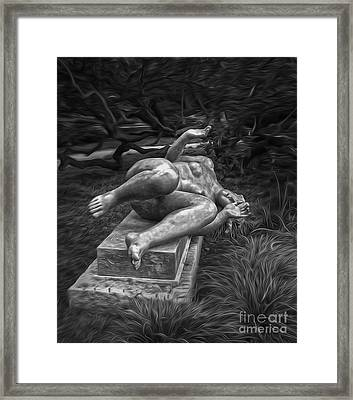 Fear Framed Print by Gregory Dyer