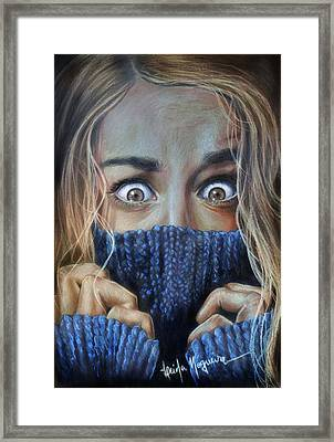 Eyes Framed Print