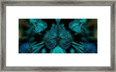 Fear Of Foliage Framed Print by WB Johnston