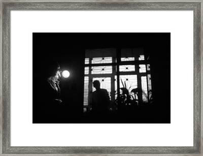 Fear Of The Dark Framed Print by Taylan Apukovska