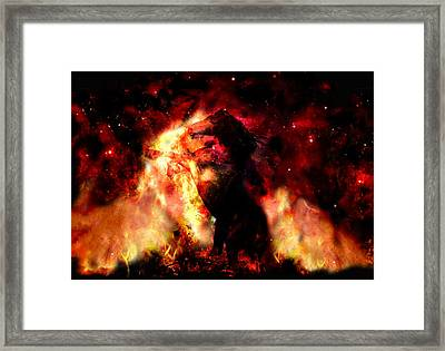 Fearless.... Framed Print by Anastasios Aretos