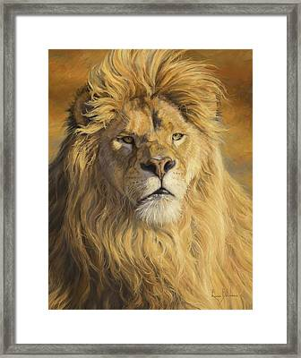 Fearless - Detail Framed Print by Lucie Bilodeau