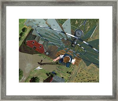 Fearless Framed Print by John Wyckoff