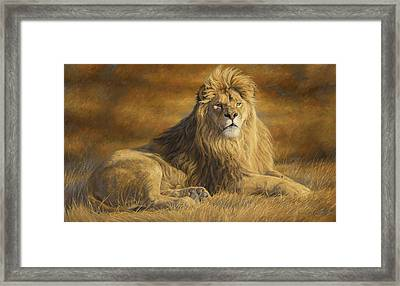 Fearless Framed Print by Lucie Bilodeau