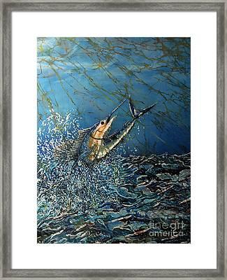 Fearless  Framed Print by Sue Duda