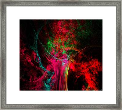 Feast For The Eye Framed Print by Lourry Legarde