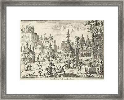 Feast Of Tabernacles, Jan Luyken, Willem Goeree Framed Print