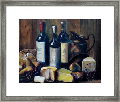 Feast Still Life Framed Print