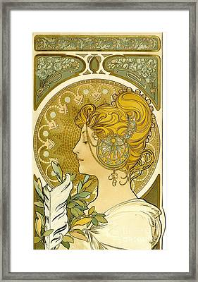 Feather 1899 Framed Print by Padre Art
