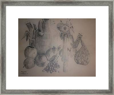Feathers Framed Print by Dave Farrow