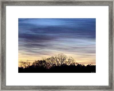 February 1 Dawn 2013 II Framed Print by Maria Urso