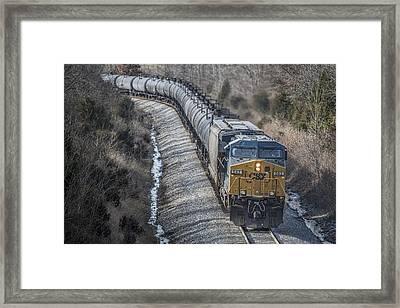 February 12. 2015 - Csx Engine 542 Framed Print