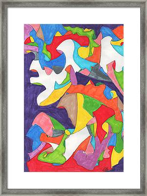 February Eleventh Framed Print by Ellen Howell