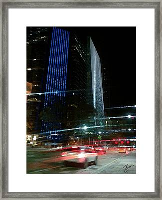 February In Miami Framed Print by Shawn Lyte