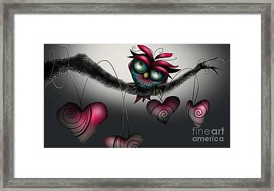 February Love  Framed Print