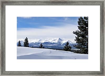 February Wind Framed Print