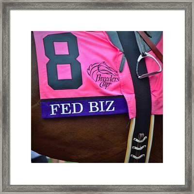 Fed Biz Framed Print by See My  Photos