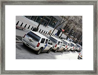 Federal Protective Service Framed Print by Martin Jones