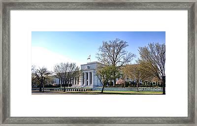 Federal Reserve Building Framed Print