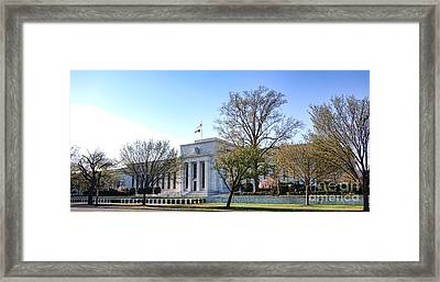 Federal Reserve Building Framed Print by Olivier Le Queinec