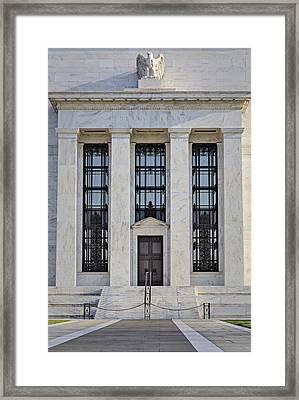 Federal Reserve Framed Print