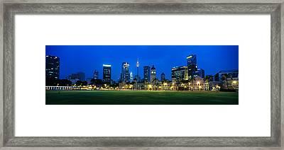 Federal Secretariat Kuala Lumpur Framed Print