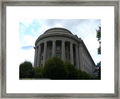 Federal Trade Commission Framed Print by Lingfai Leung