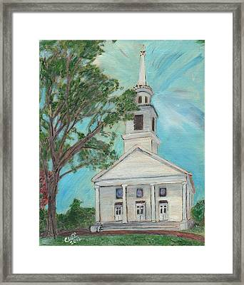 Federated Church Framed Print