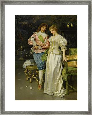 Betrothed Framed Print by Federico Andreotti