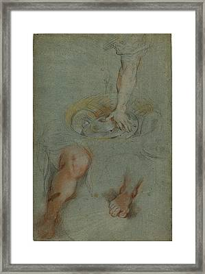 Federico Barocci, Italian Probably 1535-1612 Framed Print