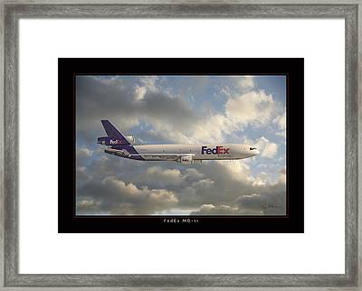 Fedex Md-11 Framed Print