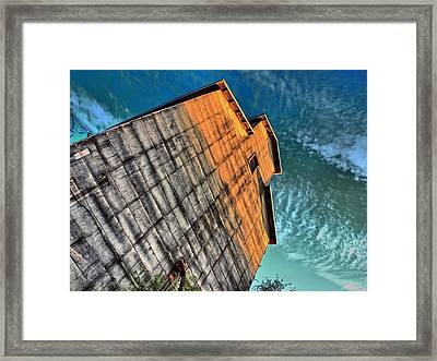 Feed And Grain Framed Print by Tom Druin