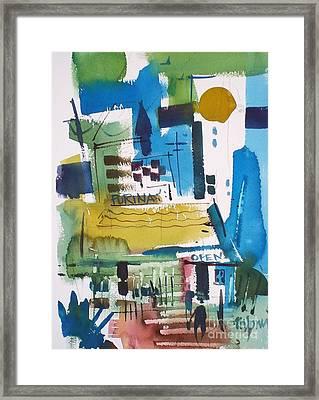 Feed Mill Framed Print