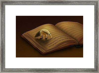 Feeding On The Music Framed Print by Gianfranco Weiss