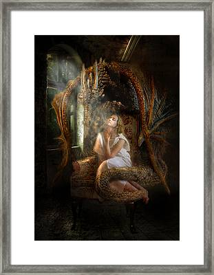 Feeding The Soul  Framed Print